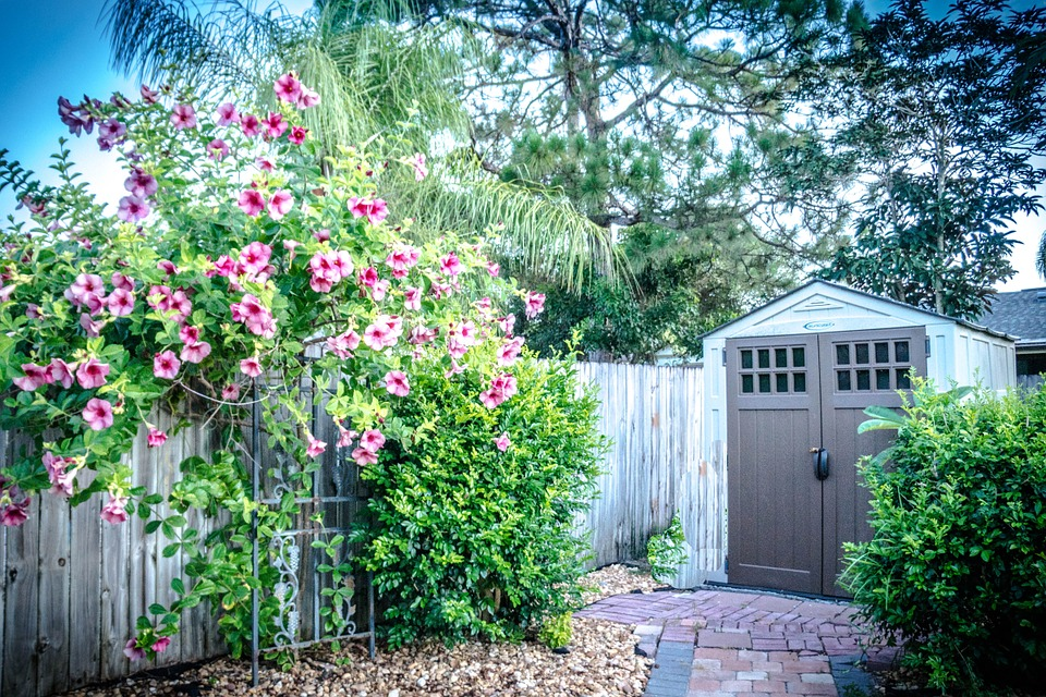 Install a garden shed to add value to your property