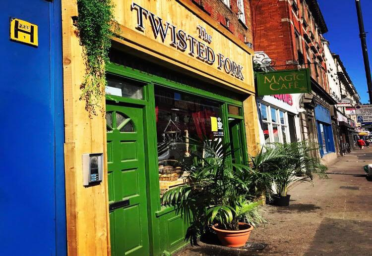 The UK's first magic-themed coffee shop has opened in Stoke Newington. The Twisted Fork is the brainchild of a member of The Magic Circle. Find out more about this venue and what to expect.