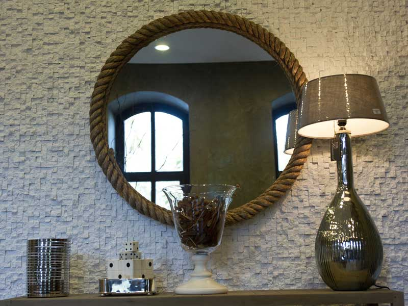 Home improvement - mirror in a house for sale in North London