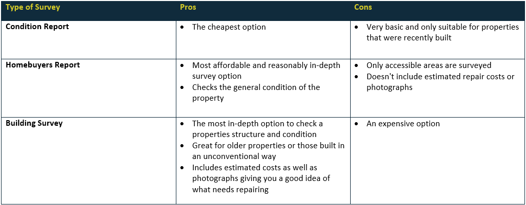 Survey Pros and Cons